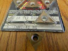 """Valenite TNMC 43 NG .130"""" VN8 Carbide Grooving Insert"""