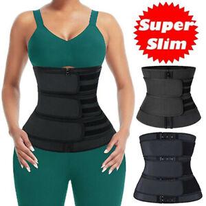 Waist Trainer Belt For Women - Sauna Corsets Cincher Slimming Shaper Neoprene UK