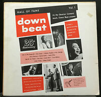 Various Down Beat Hall Of Fame Vol 1 LP VG+ 1959 Verve MG V-8320 Jazz Trumpeter