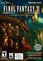 Final Fantasy XI The Ultimate Collection - PC - DVD-ROM - VERY GOOD