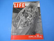 Life Magazine September 7 1942 War Glider Plane WWII Great Ads & Graphics