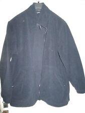 Uneek Blue zip Up  Lined Fleece Mens Jacket Top XL