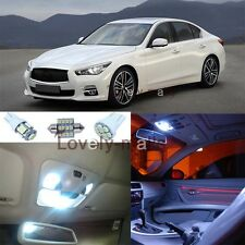 New Premium Xenon White Lights SMD Interior LED Package Kit for Infiniti G37 Q50