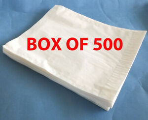 "Kenro 10 x 8 Negative Bags Box of 500 (bag size 8.5"" x 10.5"")"
