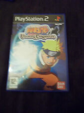 Naruto Uzumaki chronicles PS2  Playstation 2 complet de sa notice
