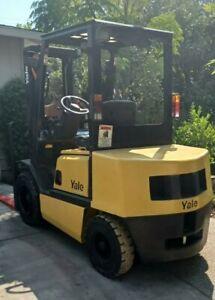 YALE GDP060 5k Two Stage Mast 3.0 Diesel Forklift