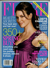 Evangeline Lilly April 2006 Canadian Flare Magazine 6 Pages! Lost