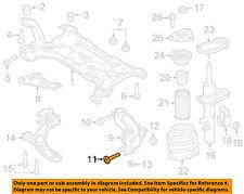FORD OEM 12-16 Focus Front Suspension-Knuckle Lower Bolt W715491S442**Pkg of 2**