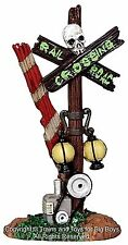 Lemax 24464 ROTTEN RAILROAD CROSSING Spooky Town Accessory Halloween Decor G I