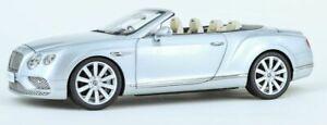 Paragon 98231R Bentley Continental GT Conv '16 RHD Silver 1/18