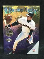 1996 Stadium Club MID SUMMER MATCHUP Members Only BARRY BONDS ALBERT BELLE