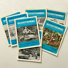 Scootering and Lightweights 7 issues 1969 Vespa Lambretta no Ulma