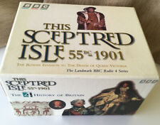 This Sceptred Isle 55BC - 1901 BBC Audio Cassette Tapes Box Set with Booklets