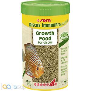 sera Discus ImmunPro Nature 250mL Growth Fish Food For Discus with Probiotics