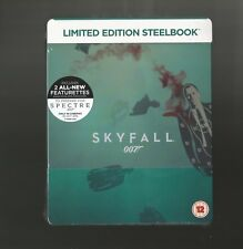 JAMES BOND 007 : SKYFALL - UK EXCLUSIVE BLU RAY STEELBOOK - NEW & SEALED