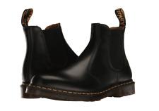 Para mujeres Zapatos Dr. Martens 2976 Chelsea Botas De Cuero Puntada Amarillo 22227001 Negro