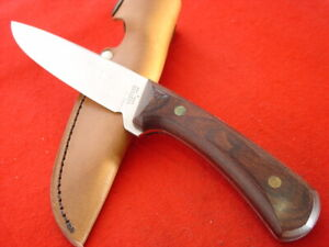 "Western USA made W84 9"" Full Tang Fixed Blade Sheath Knife MINT"