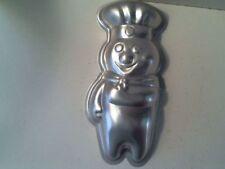 "Pillsbury Doughboy Mini Aluminum Cake Pan Mold 7"""
