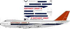 Northwest Orient delivery livery Boeing 747-100 decals for Revell 1/144 kit