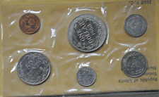 1968 Liberia 6 Coin Uncirculated Proof Set 14,396 Minted US Mint