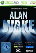 XBOX 360 Alan Wake * Ultra-più Psycho action thriller tedesco * NUOVO
