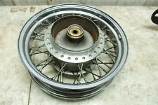 01 Honda VT 600 VLX VT600 Shadow rear back wheel rim straight