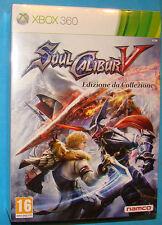 Soul Calibur 5 - Edizione da Collezione - Microsoft XBOX 360 - PAL  New Nuovo Se