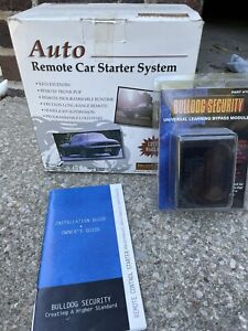 Bulldog Security Remote Starter System Keyless Entry RS102 + Bypass Module 791