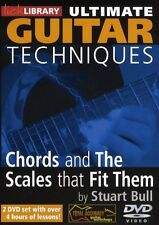 LICK LIBRARY CHORDS & SCALES THAT FIT THEM Guitar Lessons Video DVD Stuart Bull