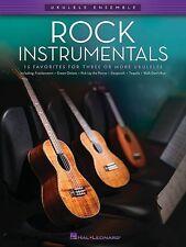 Rock Instrumentals For Ukulele Ensemble Book *NEW* Music 15 Favourites Ukuleles