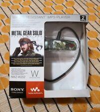 MP3 WALKMAN W252 edizione limitata METAL GEAR SOLID PEACE WALKER INTROVABILE NEW