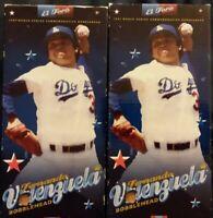 2x LOT- 2006 FERNANDO VALENZUELA Bobblehead Bobble El Toro LA Dodgers NEW fr/shp