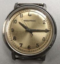 Vintage Bulova M3 Accutron Set Back Mens Wristwatch Not Running