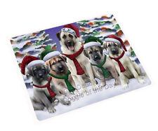 Anatolian Shepherds Dog Christmas Tempered Cutting Board (Large) Db1408