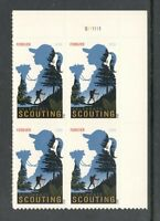 Sc # 4691 ~ Plate # Block ~ Forever Stamp Girls Scouts of America Issue (da26)