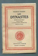 70110 - HARDY Thomas ; Les dynastes, épopée dramatique. Le Cabinet cosmopolite.