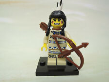Lego Figur Sammelfigur Serie 1 Nr.1  Indianerin     col001