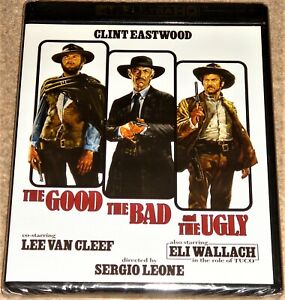 THE GOOD THE BAD AND THE UGLY 4K UHD / INCLUDES BLU RAY / WORLDWIDE SHIPPING