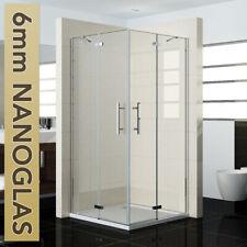 Scharniertür Eckeinstieg NANO-GLAS Duschkabine Duschabtrennung Duschwand Dusche