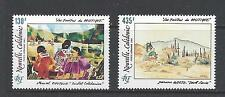 NEW CALEDONIA - C226 - C227 - MNH - 1991-  PAINTINGS BY  MOUTOU & GOETZ
