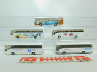 BO787-0,5# 5x Wiking H0/1:87 Bus MB O 404 RHD: Body Control+München etc, s.g.
