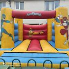 *14FT L X 12FT W* 🎆 POWER RANGERS 🎆 COMMERCIAL BOUNCY CASTLE + DELIVERY!