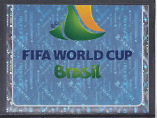 Panini - Brazil 2014 World Cup - # 3 Foil 2014 World Cup Logo - Platinum