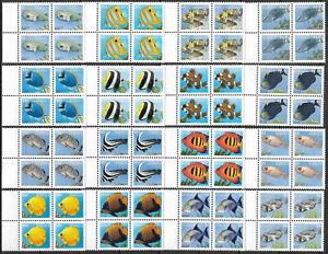 "DOMINICA - 1997 MNH ""Definitive Set - FISH"" Block Of Four (RARE) !!"