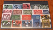 Germany Complete Year 1960 Stamp Set Mint Never Hinged MNH German Stamps