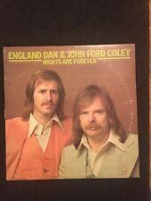 England Dan & John Ford Coley Vinyl Record Album 1976