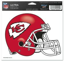 "Kansas City Chiefs 5""x6"" 5x6 Ultra Decal Window Laptap Car Truck Auto Multi Use"
