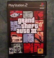 Grand Theft Auto III (Sony PlayStation 2, 2006) NTSC U/C PS2