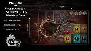 Custom Made Player Mat for Warhammer Underworlds