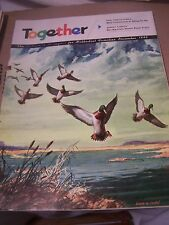 Vintage TOGETHER For Methodist Church Christian Families Magazine 1956 December